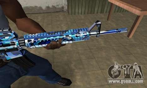 Cold M4 for GTA San Andreas second screenshot