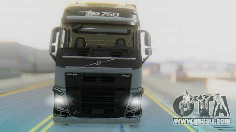 Volvo FH Euro 6 Heavy 8x4 for GTA San Andreas back view