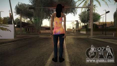 Alara Model Girl for GTA San Andreas third screenshot