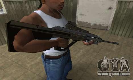 Brown AUG for GTA San Andreas