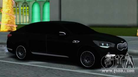 Kia Quoris for GTA San Andreas back left view