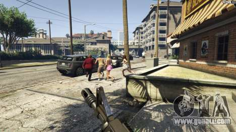 GTA 5 Weapons Are Scary Mod [.NET] 1.3