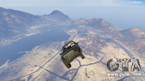 GTA 5 Sticky Underwater Cars fifth screenshot