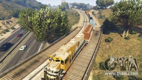 Railroad Engineer 3 for GTA 5