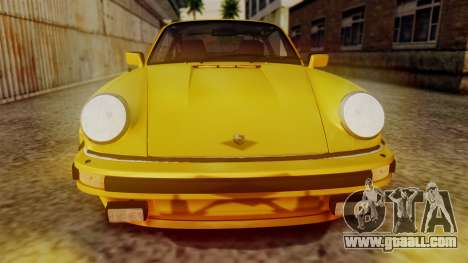 Porsche 911 Turbo (930) 1985 Kit C PJ for GTA San Andreas inner view