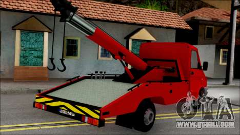Zastava Daily Towtruck for GTA San Andreas left view