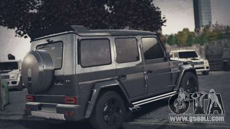 Mercedes-Benz G65 W463 for GTA 4 left view
