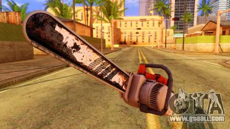 Atmosphere Chainsaw for GTA San Andreas