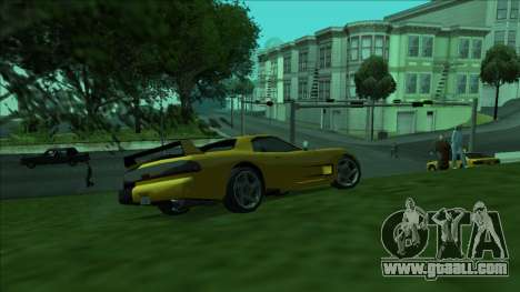 ZR-350 Double Lightning for GTA San Andreas side view