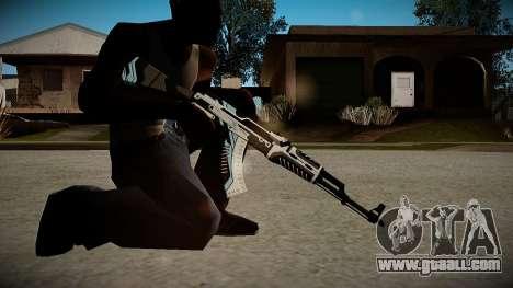 AK-47 Vulcan for GTA San Andreas third screenshot