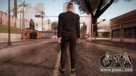 Skin1 from DLC Gotten Gaings for GTA San Andreas third screenshot