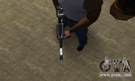 Original M4 for GTA San Andreas second screenshot