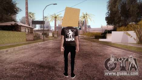 LMFAO Robot for GTA San Andreas third screenshot