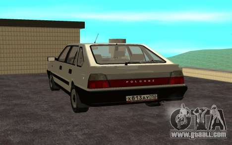 Daewoo FSO Polonez Caro Plus for GTA San Andreas left view