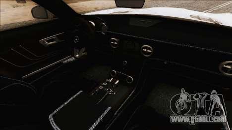 Mercedes-Benz SLS AMG 2013 for GTA San Andreas upper view