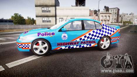 Ford Falcon BA XR8 Police [ELS] for GTA 4 left view