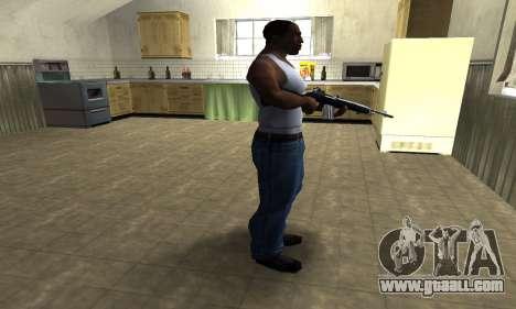 Full Black Rifle for GTA San Andreas third screenshot