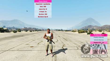 Indicators for developers v0.71 for GTA 5