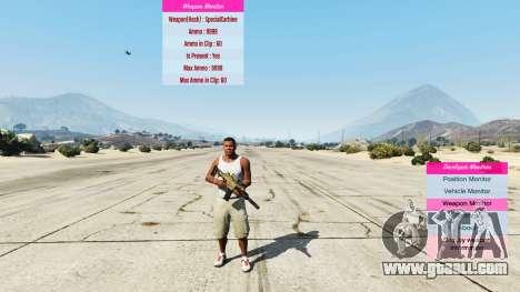 GTA 5 Indicators for developers v0.71 second screenshot