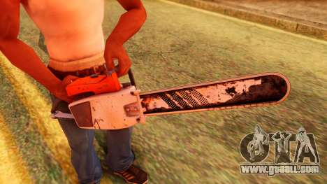 Atmosphere Chainsaw for GTA San Andreas third screenshot
