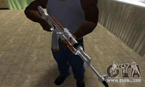 AK-47 Asiimov for GTA San Andreas