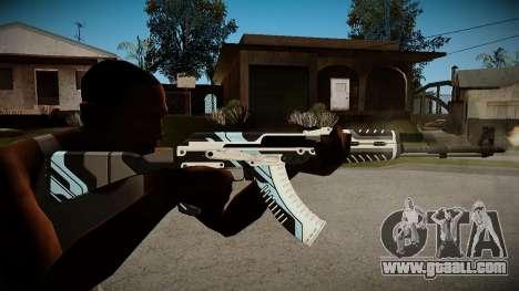 AK-47 Vulcan for GTA San Andreas second screenshot