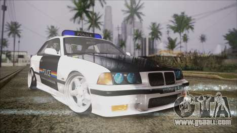 BMW M3 E36 Police for GTA San Andreas