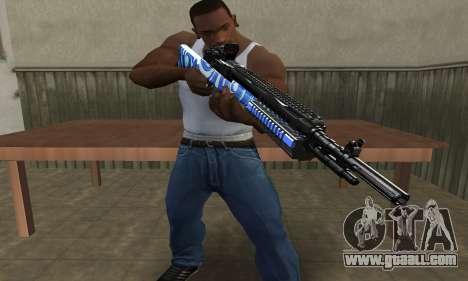 JokerMan Rifle for GTA San Andreas second screenshot