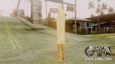 Red Dead Redemption Knife Legendary Assasin for GTA San Andreas second screenshot