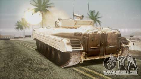 Call of Duty 4: Modern Warfare BMP-2 for GTA San Andreas left view