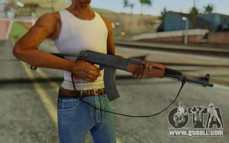 AK-47S with Strap for GTA San Andreas third screenshot