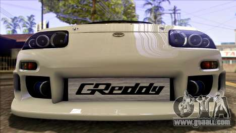 Toyota Supra 1998 E-Design for GTA San Andreas side view