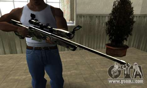 Lithy Sniper Rifle for GTA San Andreas