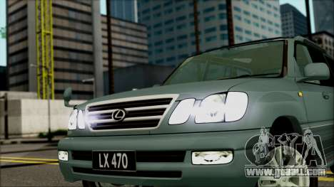 Lexus LX470 for GTA San Andreas right view