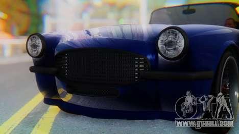 Invetero Coquette BlackFin v2 GTA 5 Plate for GTA San Andreas interior