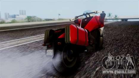 Dinka Vindicator SA Plate for GTA San Andreas left view