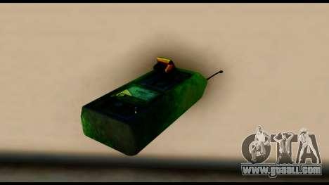 Brasileiro Bomb Detonator for GTA San Andreas second screenshot