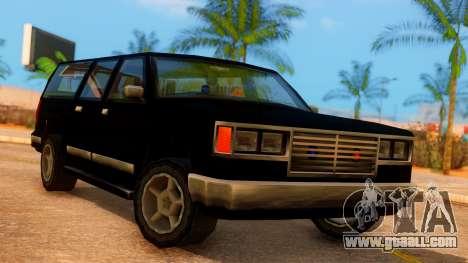 FBI 4-door Yosemite for GTA San Andreas