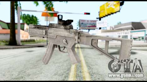 MP5 from Resident Evil 6 for GTA San Andreas second screenshot