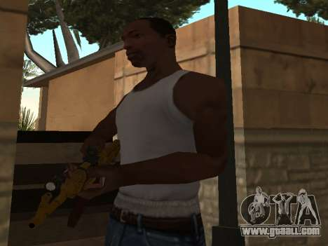 AK-47 for GTA San Andreas third screenshot