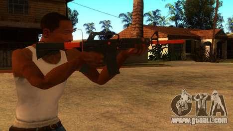 M4A1 Nitro for GTA San Andreas third screenshot