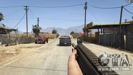 GTA 5 BF4 AR160 sixth screenshot