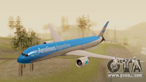 Boening 737 Argentina Airlines for GTA San Andreas