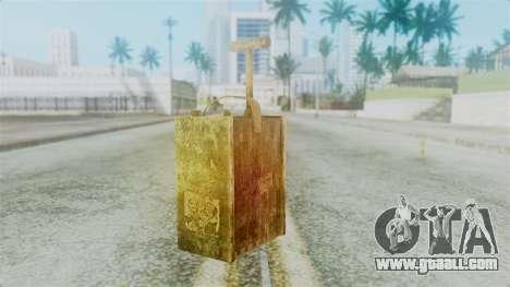 Red Dead Redemption Detonator for GTA San Andreas second screenshot
