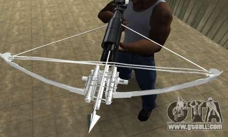 Crossbow for GTA San Andreas third screenshot