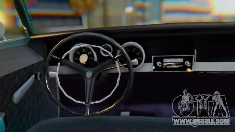 Dodge Dart Coupe for GTA San Andreas inner view