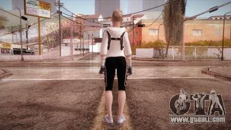 Endurance Cassie Cage from Mortal Kombat X for GTA San Andreas third screenshot