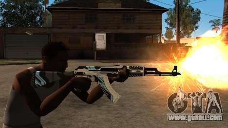AK-47 Vulcan for GTA San Andreas forth screenshot