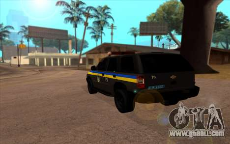 Chevrolet Blazer Berkut for GTA San Andreas left view