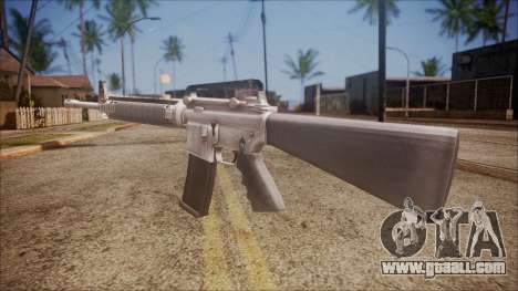 M16A3 from Battlefield Hardline for GTA San Andreas second screenshot